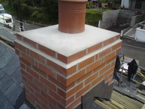 Chimney reflaunching