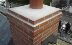 An image showing chimney repairs