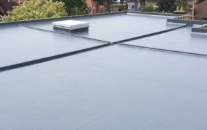 An image showing a fibreglass roof
